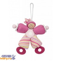 Игрушка-погремушка Розовый клоун Wonderworld ( Игрушки, Wonderworld )