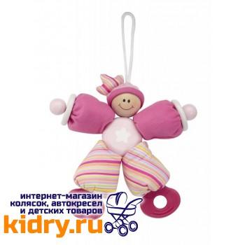 Игрушка-погремушка Розовый клоун Wonderworld
