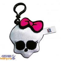 Брелок - Череп (серебро), Monster High, 10 см ( Игрушки, Monster High )