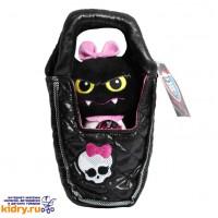 Плюшевый питомец - Летучая мышь Граф Великолепный в сумочке, Monster High, 14 см ( Игрушки, Monster High )