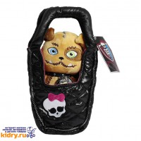 Плюшевый питомец - Собака Безымянный в сумочке, Monster High, 14 см ( Игрушки, Monster High )