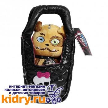 Плюшевый питомец - Собака Безымянный в сумочке, Monster High, 14 см