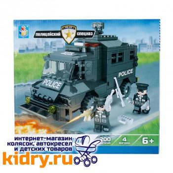 Конструктор Полицейский спецназ - Бронемашина (200 деталей)