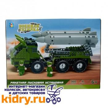 Конструктор Военная техника - Ракетная пусковая установка (360 деталей)
