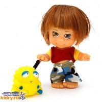Кукла «Пупси» с игрушкой-брелочком (6 видов) ( Игрушки, )
