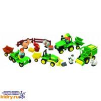 Игровой набор Веселая Ферма John Deere ( Игрушки, Развивающие игрушки, Игрушки TOMY