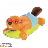 Игрушка для ванны Бобер-серфингист Tomy ( Игрушки, Развивающие игрушки, Игрушки TOMY