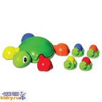 Игровой набор для ванны Весёлые черепашки Tomy ( Игрушки, Развивающие игрушки, Игрушки TOMY