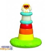 Игрушка для ванны Пирамидка-Маяк Tomy ( Игрушки, Развивающие игрушки, Игрушки TOMY