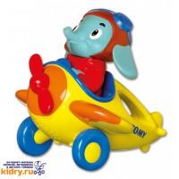 Интерактивная игрушка Весёлые Виражи Летчика Люка Tomy ( Игрушки, Развивающие игрушки, Игрушки TOMY