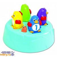 Игровой набор для ванны Островок Пингвинов-Прыгунов Tomy ( Игрушки, Развивающие игрушки, Игрушки TOMY