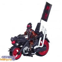 Мотоцикл Черепашки Ниндзя с фигуркой ( Игрушки, Turtles )
