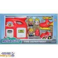 Игровой набор Пожарная станция ( Игрушки, Keenway )