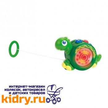 Игрушка-каталка на шнурке (динозаврик)