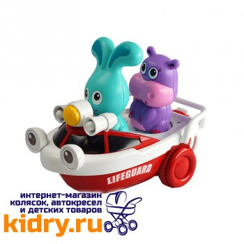 Развивающая игрушка Спасатель Бани на катере