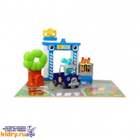 Бани - игровой набор Полицейская станция ( Игрушки, Ouaps )
