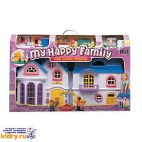 Набор:My Happy Family-дом с предметами,сборный,музыкальный ( Игрушки, Keenway )
