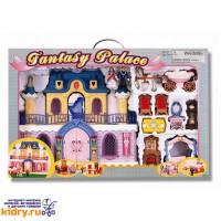 Набор: Fantasy Palace - дворец с каретой и предметами ( Игрушки, Keenway )