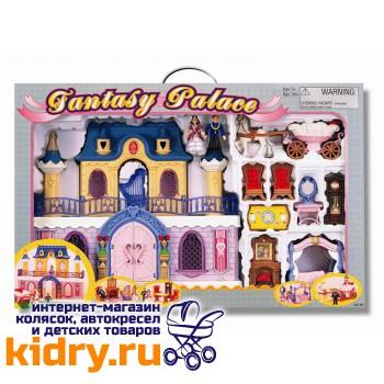 Набор: Fantasy Palace - дворец с каретой и предметами