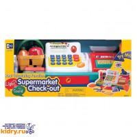 Набор Супермаркет:кассов. аппарат, продукты-свет,звук ( Игрушки, Keenway )