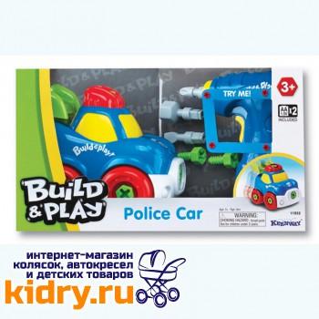 BUILD&PLAY - POLICE CAR
