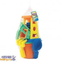 Набор : 15 игрушек для песочницы в сетке ( Игрушки, Keenway )