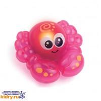 Игрушка для ванной со световыми эффектами (крабик) ( Игрушки, Hap-p-Kid )