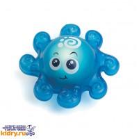 Игрушка для ванной со световым эффектом (осьминожек) ( Игрушки, Hap-p-Kid )