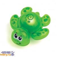 Игрушка для ванной со световым эффектом (черепашка) ( Игрушки, Hap-p-Kid )