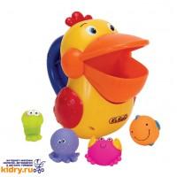 Голодный пеликан д/ванной, пластик ( Игрушки, K'S Kids )