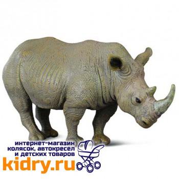 Белый носорог, L (13 см)