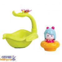 МИМИ - листочек/фонтан, интерактивная игрушка для ванной ( Игрушки, Ouaps )
