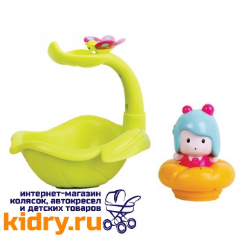 МИМИ - листочек/фонтан, интерактивная игрушка для ванной