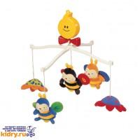 Крутящиеся музыкальные игрушки: Пчелки ( Для дома, K'S Kids )