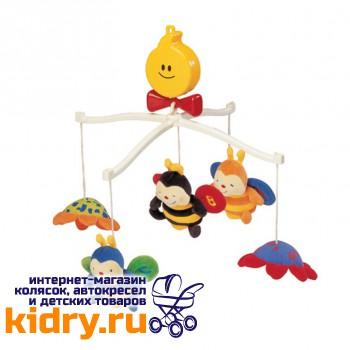 Крутящиеся музыкальные игрушки: Пчелки