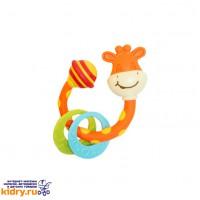Погремушка-прорезыватель жираф Сеня ( Игрушки, Tiny Love )