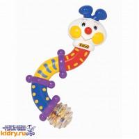 Развивающая игрушка Гусеница (гремит) ( Игрушки, K'S Kids )