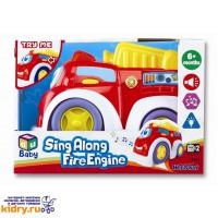 Веселая машинка (пожарная) ( Игрушки, Keenway )