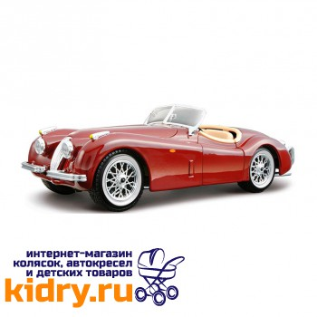 1:24 BB Машина JAGUAR XK 120 ROADSTER металл.