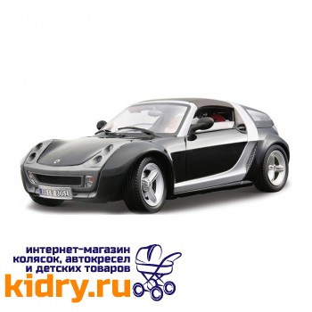1:24 BB Машина SMART ROADSTER COUPE металл.