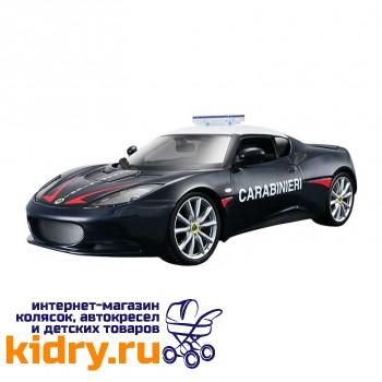 1:24 BB Машина Lotus Evora S Carabinieri металл.