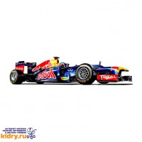 1:32 BB Машина ФОРМУЛА-1 Команда 2012 Red Bull металл. в пластиковом диспенсере