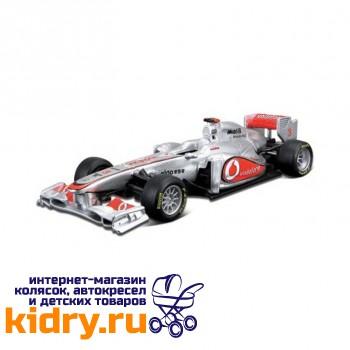 1:32 BB Машина ФОРМУЛА-1 Команда 2012 McLaren металл. в пластиковом диспенсере