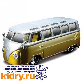 1:32 BB Машина VOLKSWAGEN Автобус 'SAMBA металл. в пластиковом диспенсере