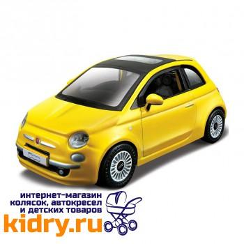 1:32 BB Машина СБОРКА New Fiat 500 2008г. металл. в закрытой упаковке