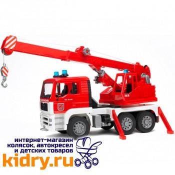 Пожарная машина автокран MAN с модулем со световыми и звуковыми эффектами