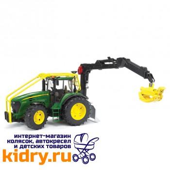 Трактор John Deere 7930 лесной с манипулятором
