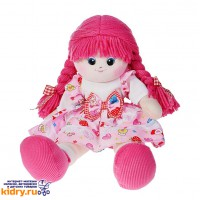 Кукла Малинка с двумя косичками, 50 см