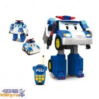 Робот-трансормер Поли на радиоуправлении (31 см) ( Игрушки, Robocar Poli )