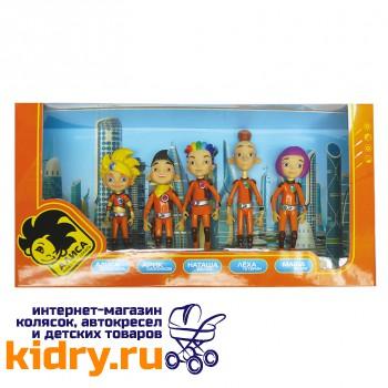 Набор из 5 игрушек: Алиса Селезнёва, Арик Сапожков, Лёха Тетерин, Наташа Белая, Маша Белая «Алиса знает, что делать!»